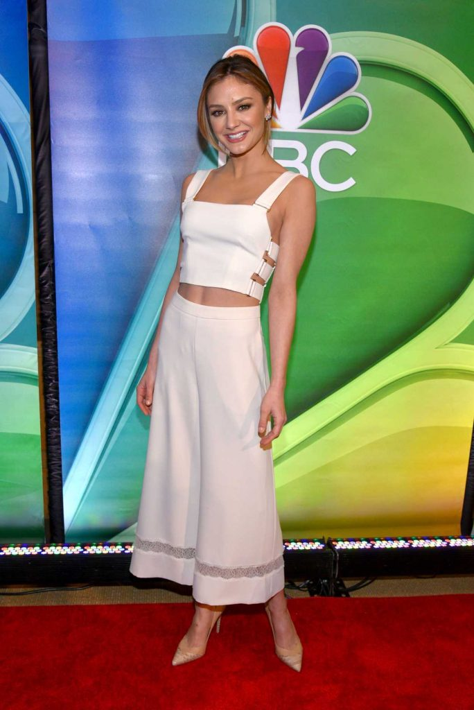 Christine Evangelista at the NBC Mid Season Press Day in New York 03/02/2017-4