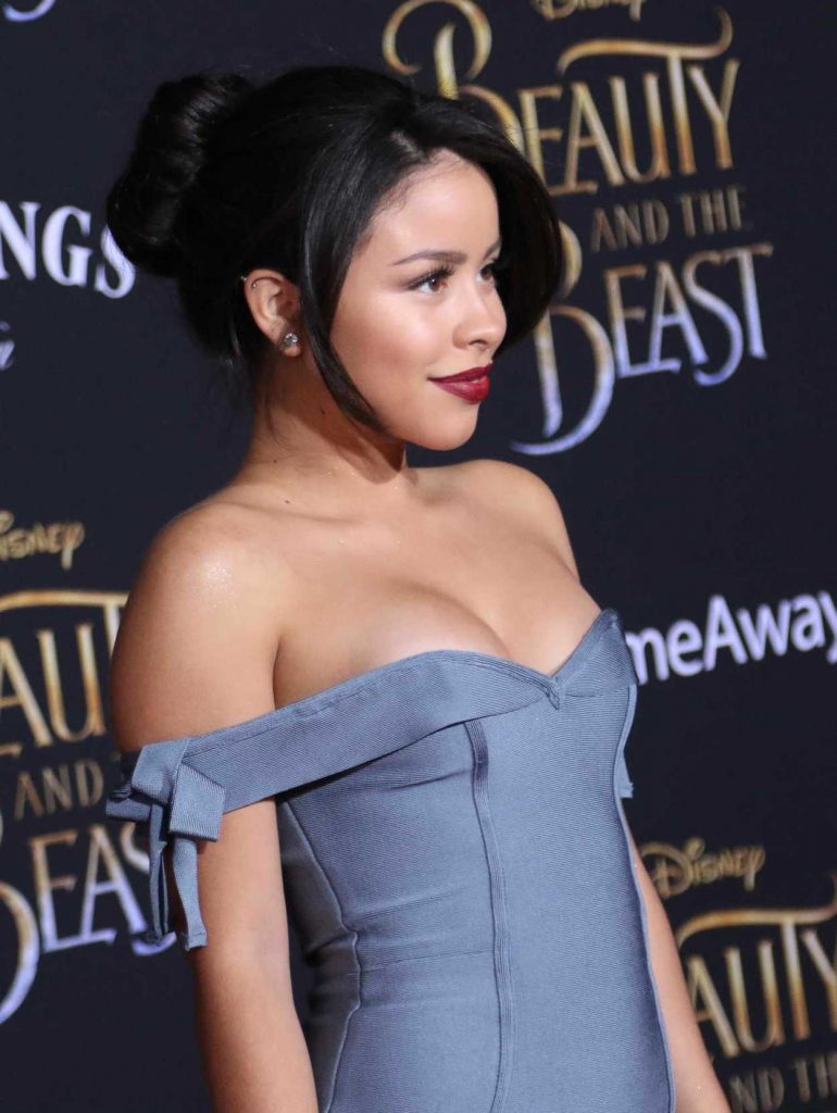 Cierra Ramirez at the Beauty and the Beast Premiere Los Angeles 03/02/2017-5