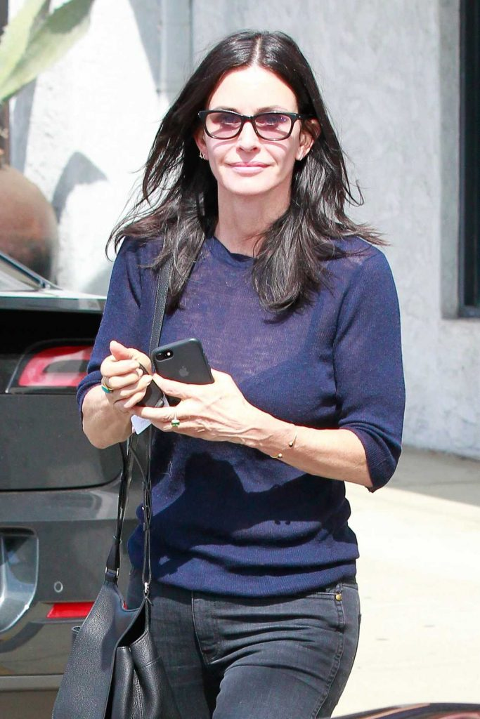 Courteney Cox Was Seen Out in West Hollywood 03/14/2017-1