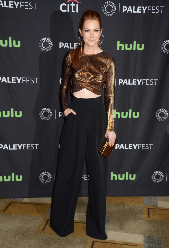 Darby Stanchfield at the Scandal Presentation During the Paleyfest LA in Los Angeles 03/26/2017-1