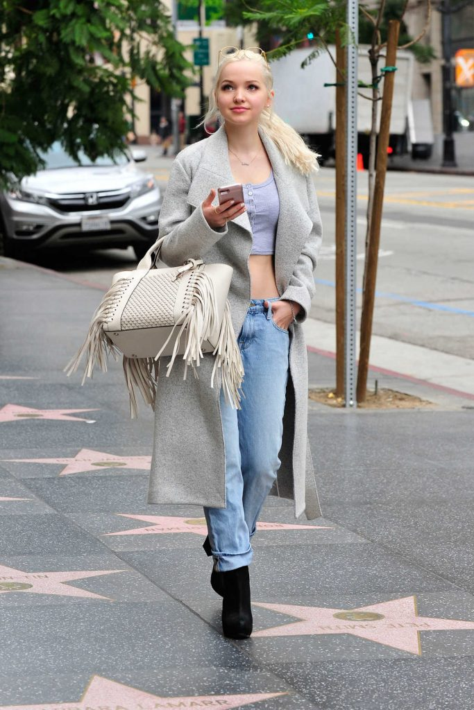 Dove Cameron Leaves a Store on Hollywood Blvd in Los Angeles 03/06/2017-1