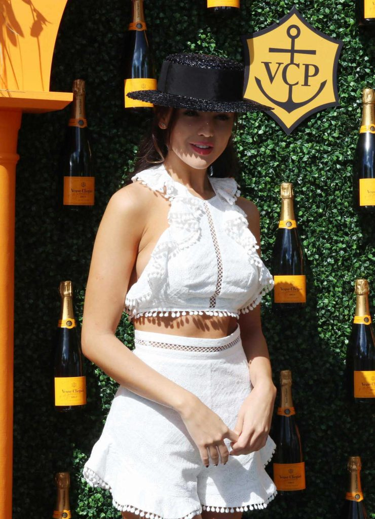 Eiza Gonzalez at the Clicquot Carnival in Miami 03/04/2017-4