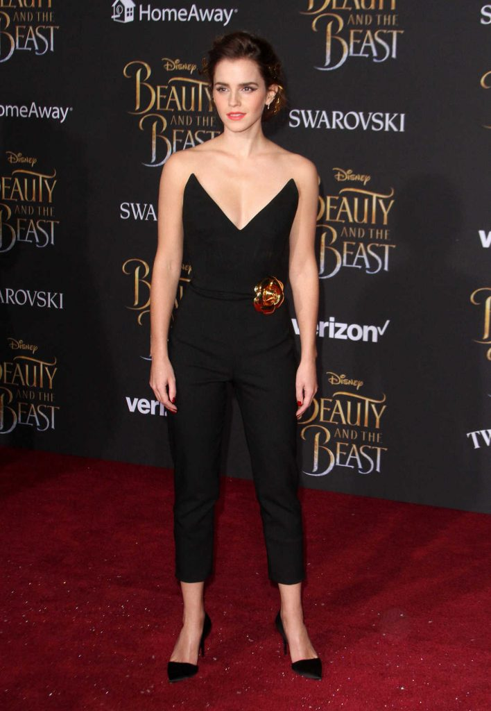 Emma Watson at the Beauty and the Beast Premiere Los Angeles 03/02/2017-1
