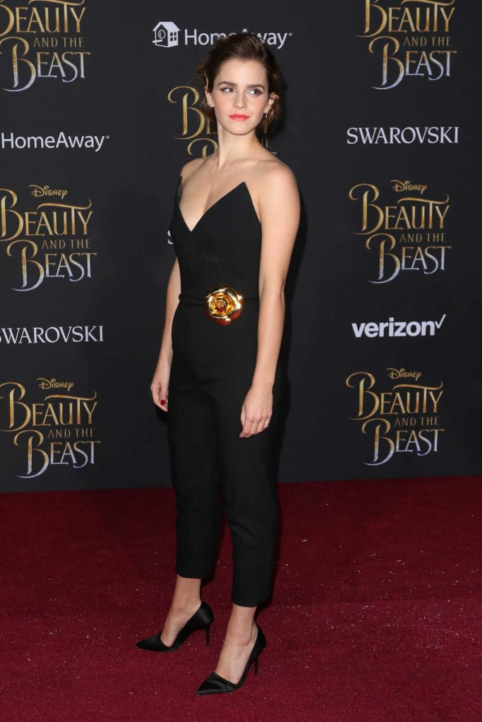 Emma Watson at the Beauty and the Beast Premiere Los Angeles 03/02/2017-2