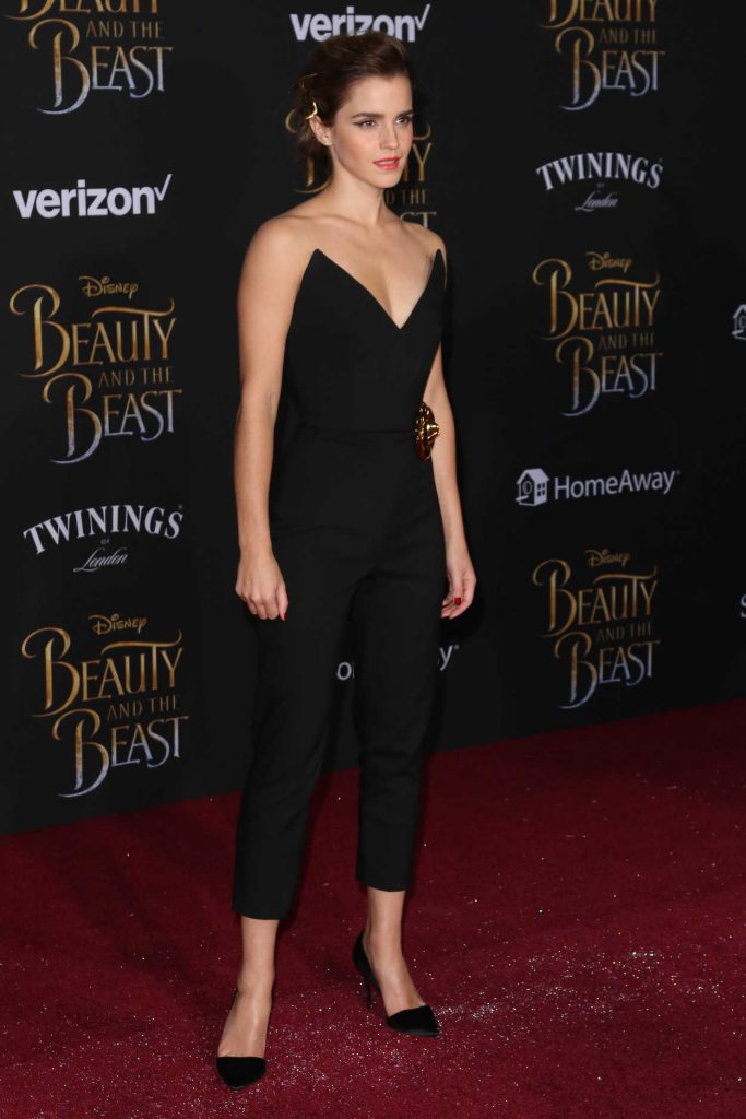 Emma Watson at the Beauty and the Beast Premiere Los Angeles 03/02/2017-3
