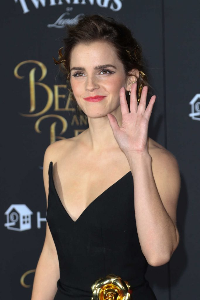 Emma Watson at the Beauty and the Beast Premiere Los Angeles 03/02/2017-4