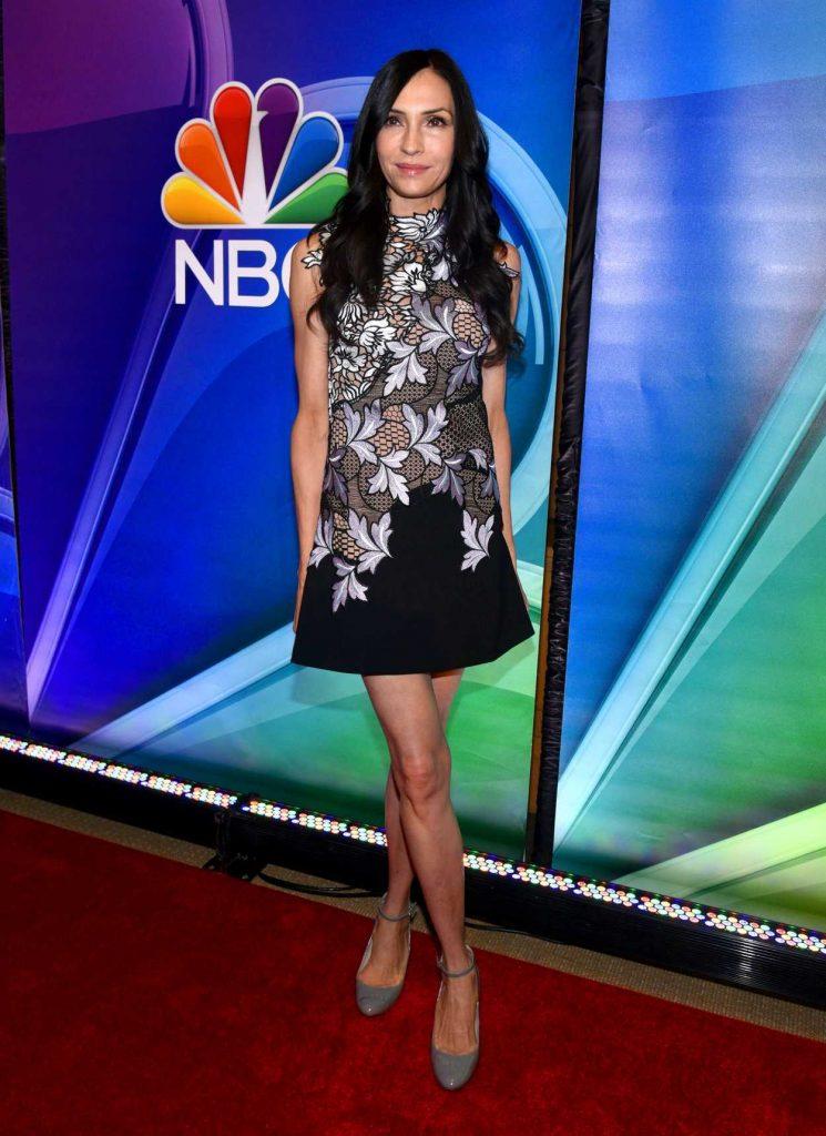 Famke Janssen at the NBC Mid Season Press Day in New York 03/02/2017-1
