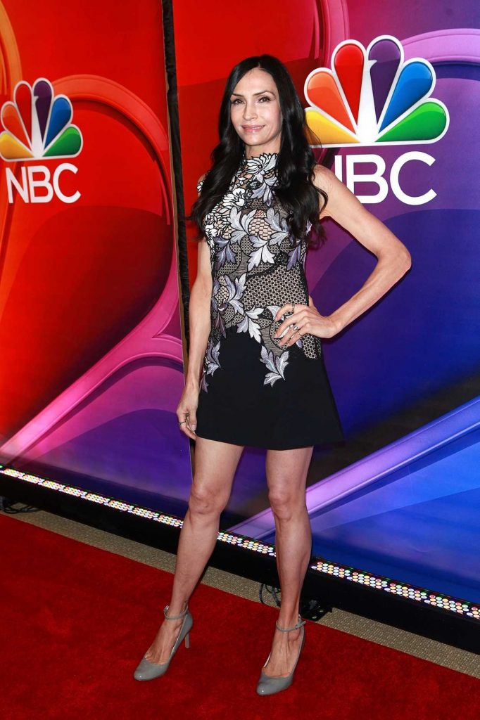 Famke Janssen at the NBC Mid Season Press Day in New York 03/02/2017-2