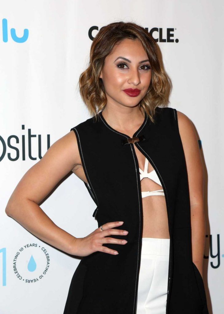 Francia Raisa at a Night of Generosity Celebrating World Water Day in Los Angeles 03/21/2017-4