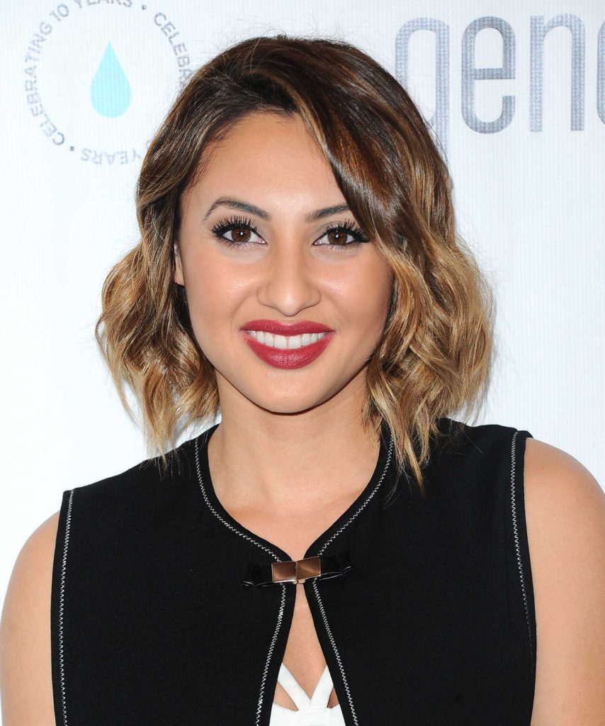 Francia Raisa at a Night of Generosity Celebrating World Water Day in Los Angeles 03/21/2017-5