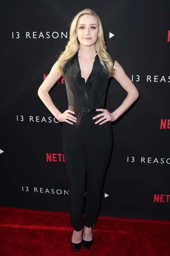 Greer Grammer at the 13 Reasons Why TV Series Premiere in Los Angeles 03/30/2017-1