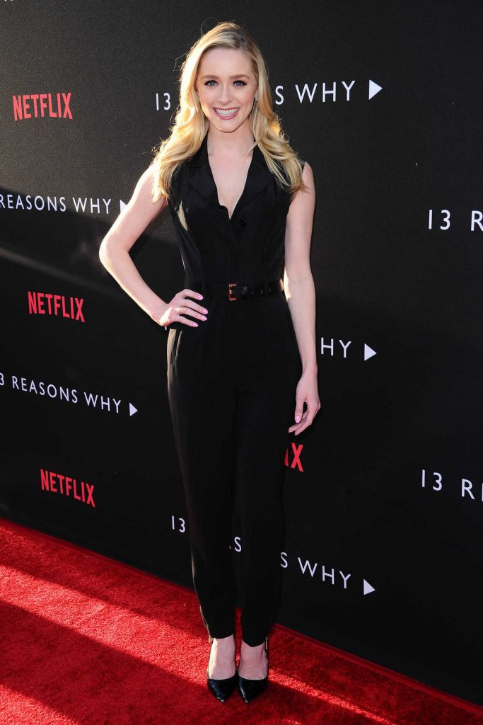 Greer Grammer at the 13 Reasons Why TV Series Premiere in Los Angeles 03/30/2017-2