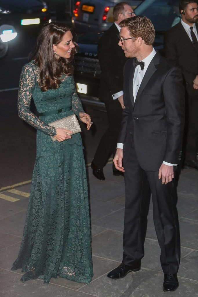 Kate Middleton at the National Portrait Gallery in London 03/28/2017-2