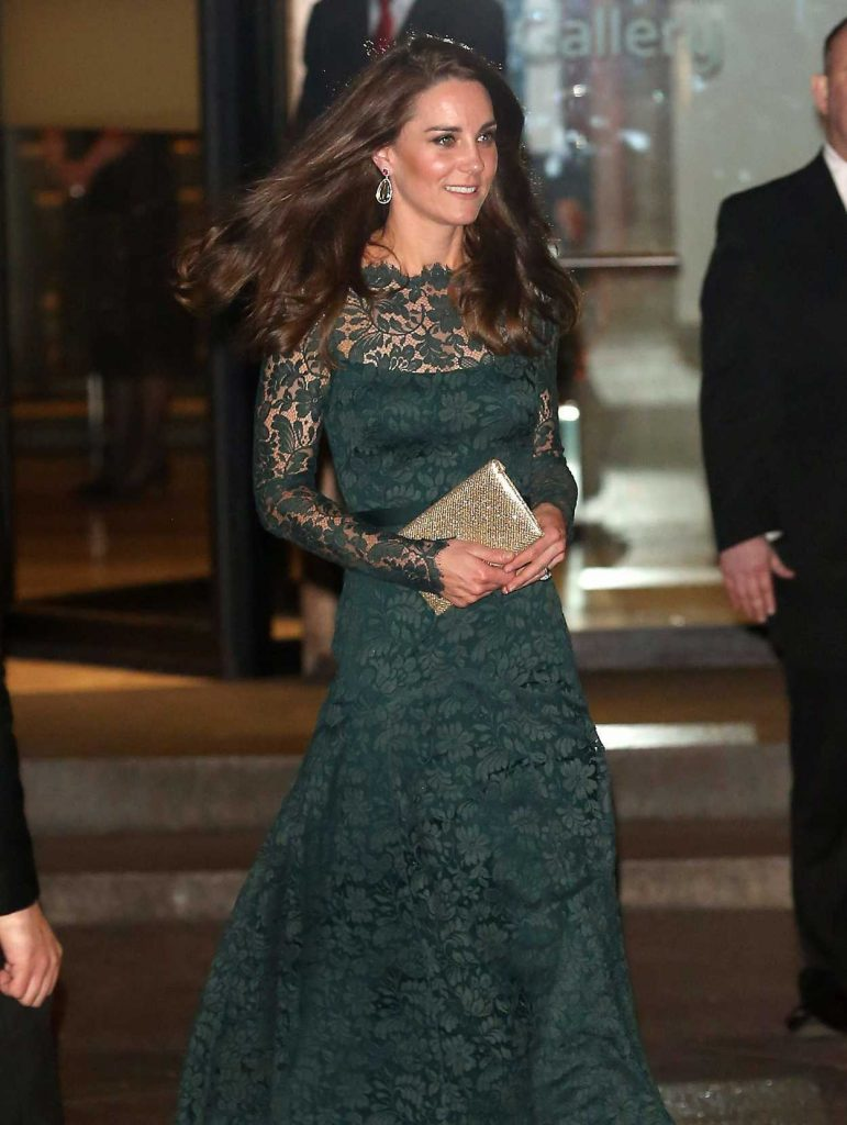 Kate Middleton at the National Portrait Gallery in London 03/28/2017-4