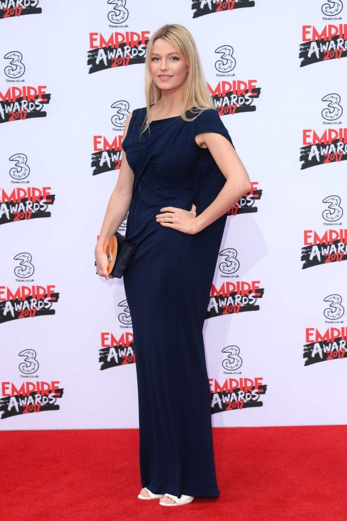 Lily Travers at the Three Empire Awards at Roundhouse in London 03/19/2017-2