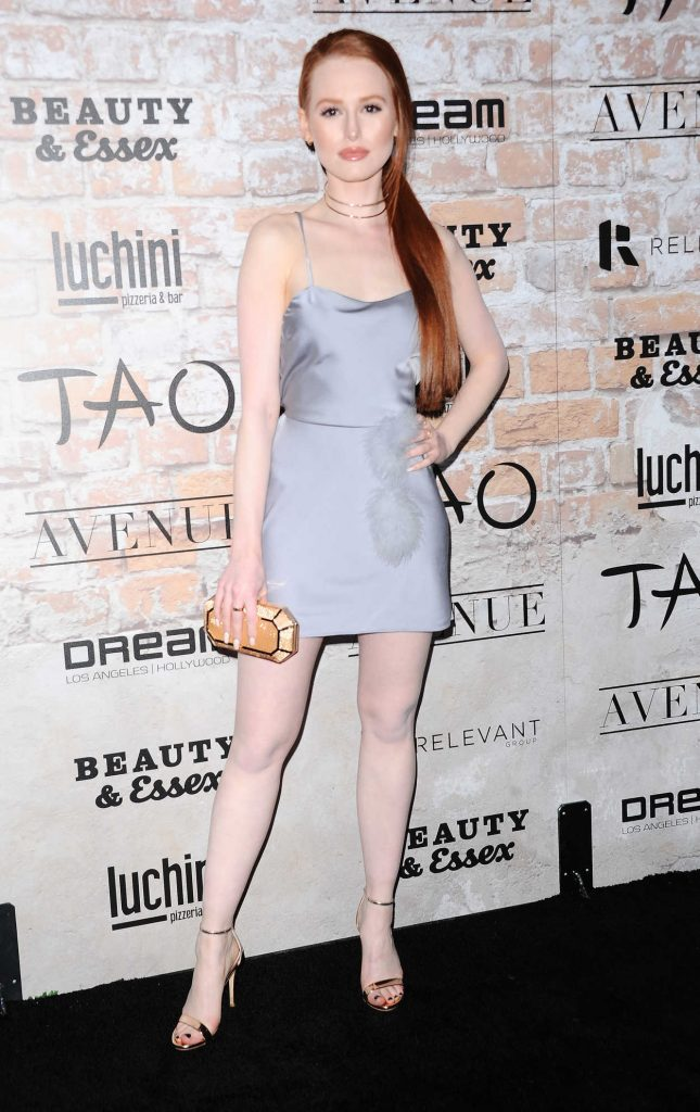 Madelaine Petsch at the TAO, Beauty + Essex, Avenue + Luchini LA Grand Opening 03/16/2017-2