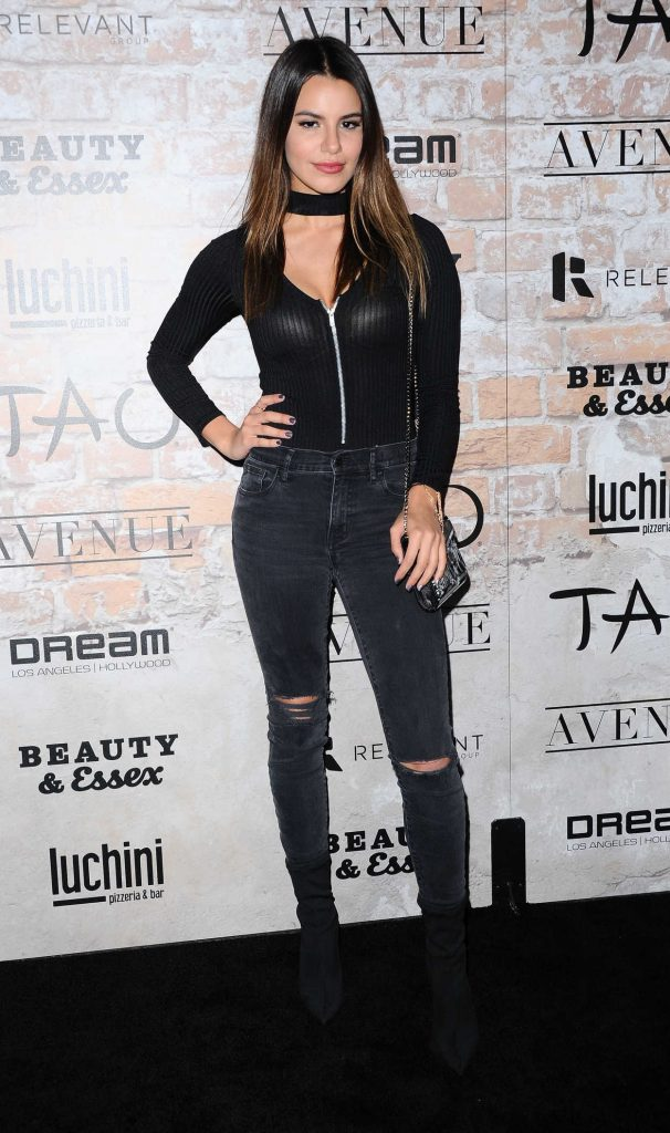 Madison Reed at the TAO, Beauty + Essex, Avenue + Luchini LA Grand Opening 03/16/2017-1