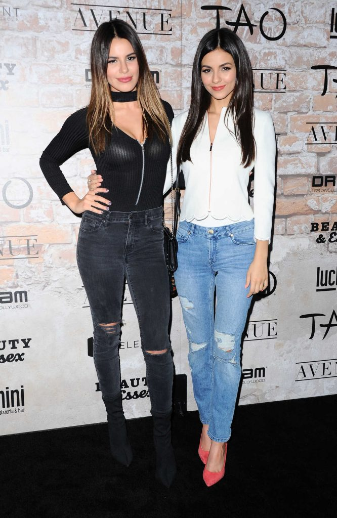 Madison Reed at the TAO, Beauty + Essex, Avenue + Luchini LA Grand Opening 03/16/2017-3