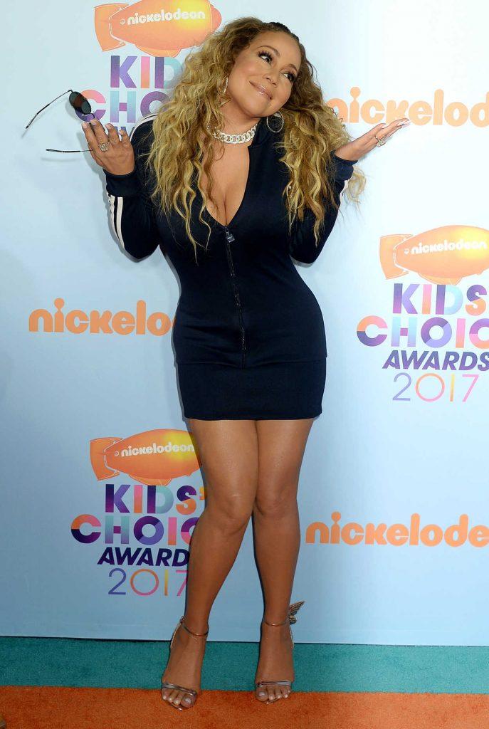 Mariah Carey at the 2017 Nickelodeon Kids' Choice Awards in Los Angeles 03/11/2017-2
