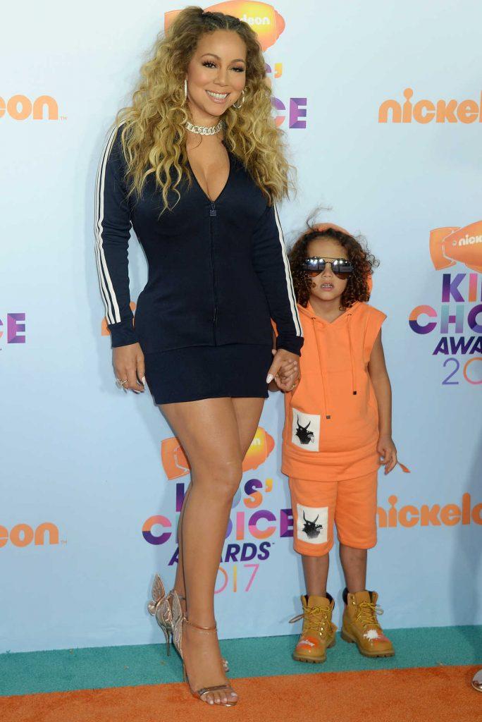 Mariah Carey at the 2017 Nickelodeon Kids' Choice Awards in Los Angeles 03/11/2017-4