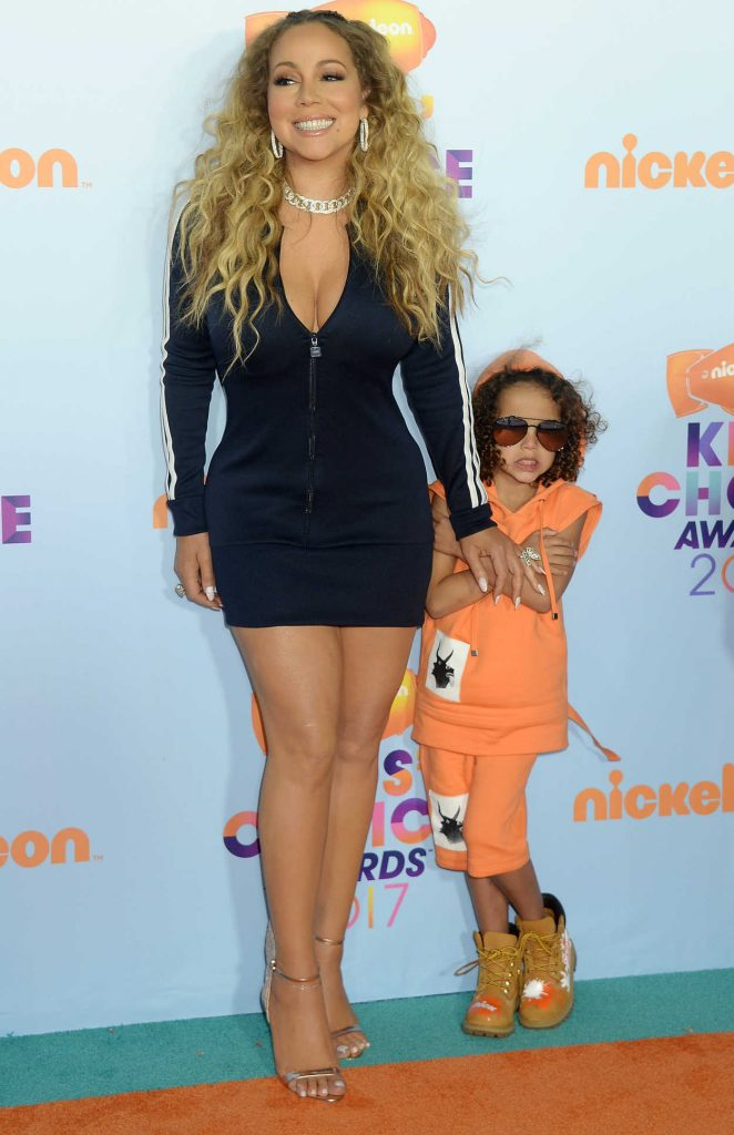 Mariah Carey at the 2017 Nickelodeon Kids' Choice Awards in Los Angeles 03/11/2017-5