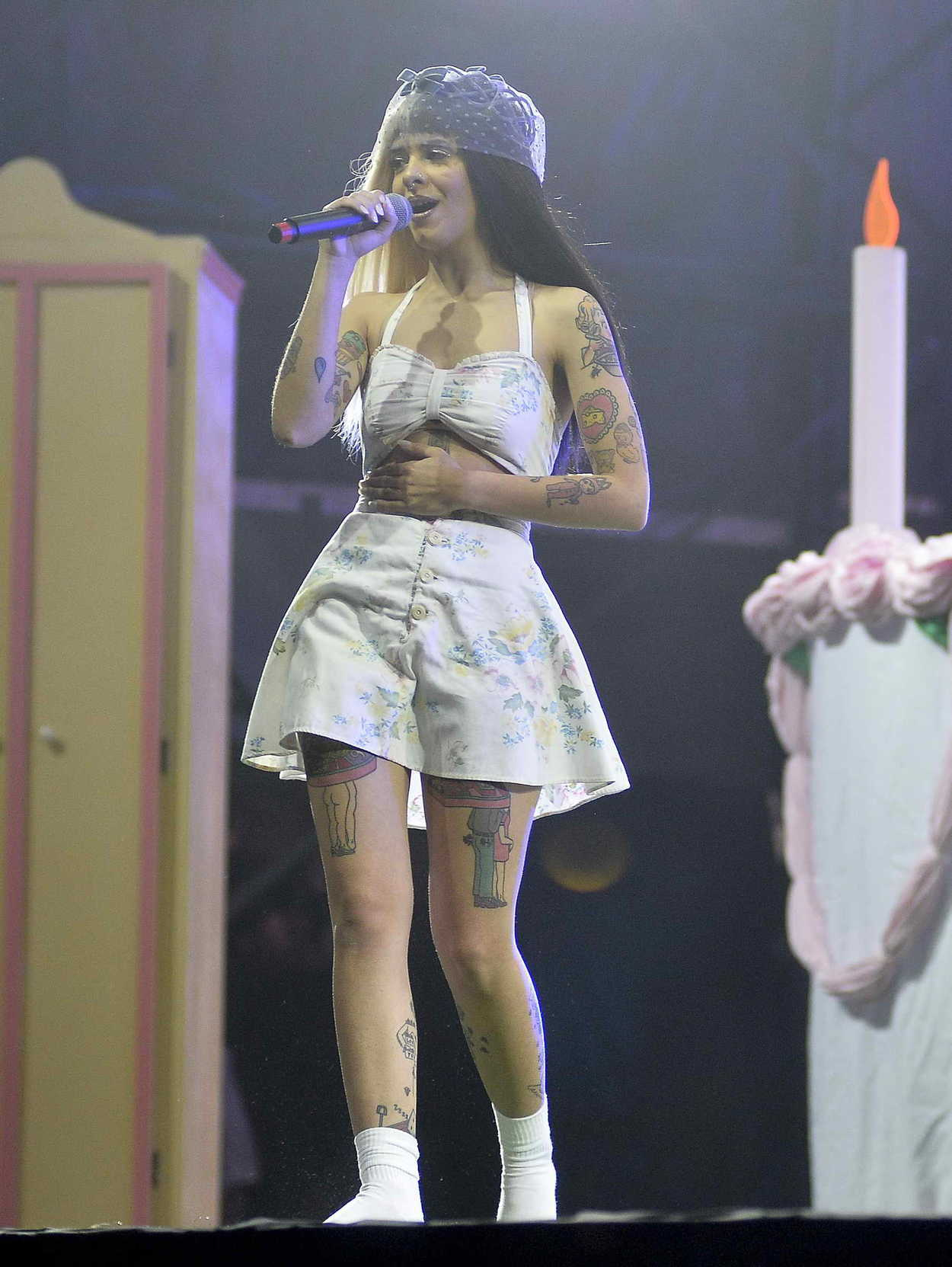 Melanie Martinez Performes at Lollapalooza Brazil in Sao ...