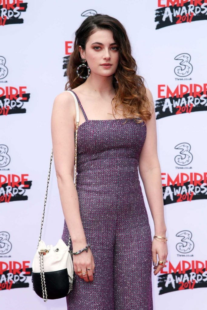 Millie Brady at the Three Empire Awards at Roundhouse in London 03/19/2017-1