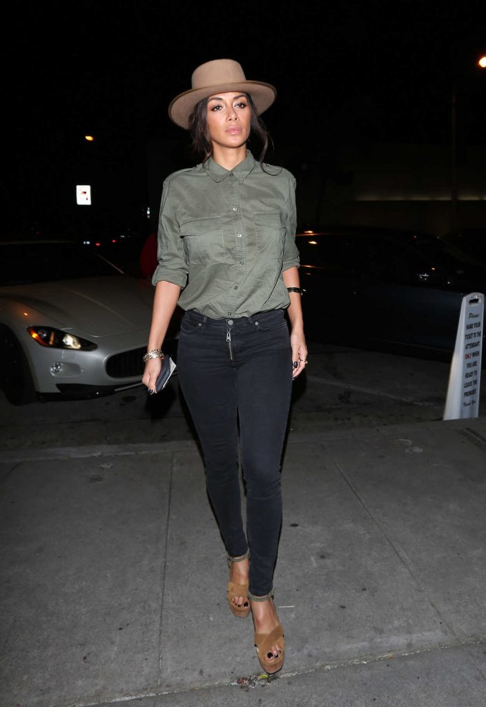 Nicole Scherzinger Was Seen Out in West Hollywood 03/10/2017-1