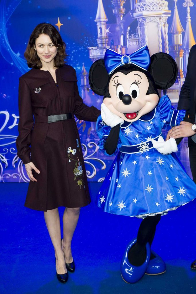 Olga Kurylenko at the Disneyland Paris 25th Anniversary Celebration 03/25/2017-1