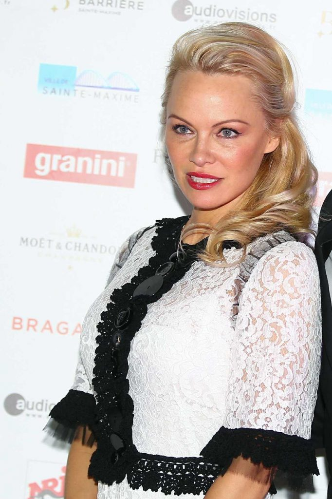 Pamela Anderson at the Pamela Anderson Foundation Gala in Sainte-Maxime, France 03/11/2017-1