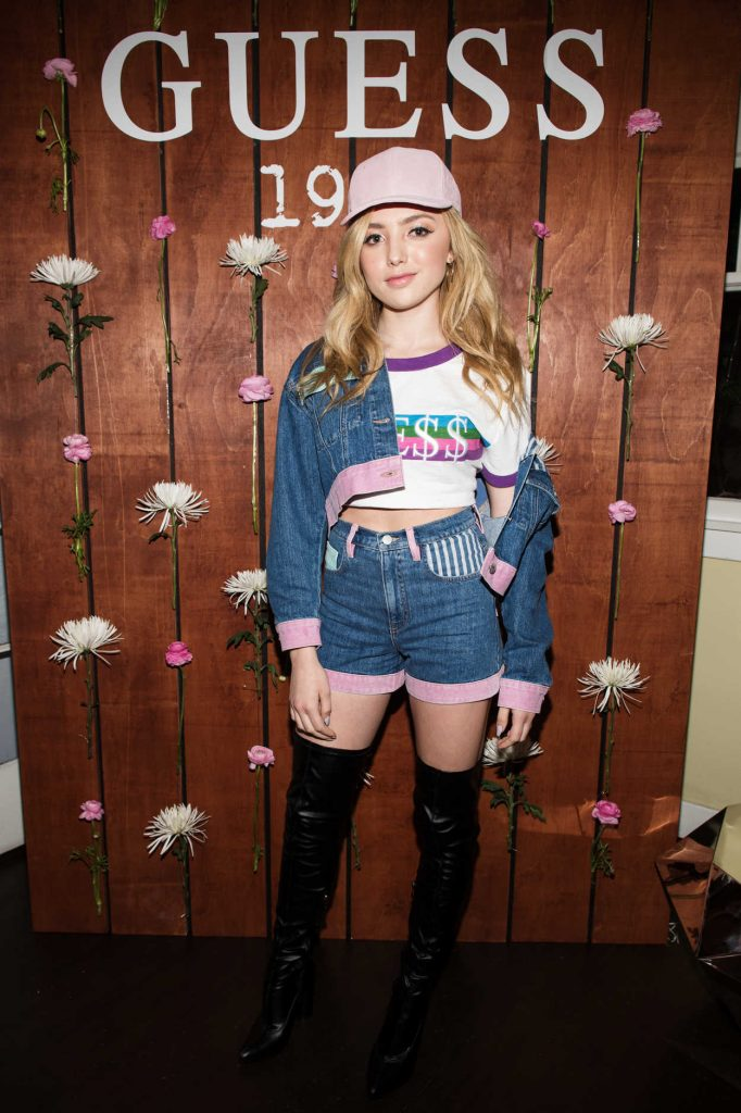 Peyton List at the Guess 1981 Fragrance Launch in Los Angeles 03/21/2017-1
