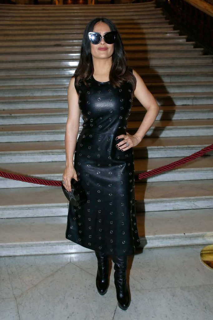 Salma Hayek at the Stella McCartney Show During the Paris Fashion Week 03/06/2017-1