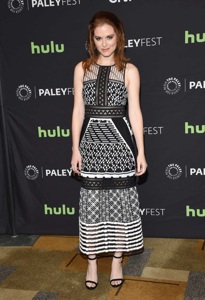 Sarah Drew at the 34th Annual PaleyFest in Los Angeles 03/19/2017-1