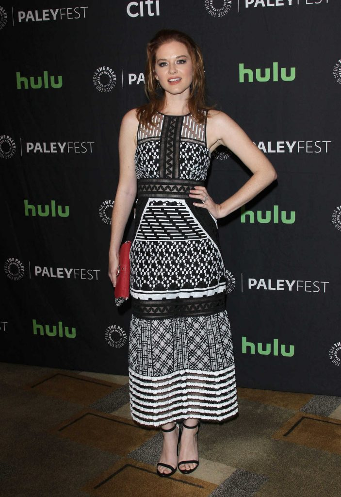Sarah Drew at the 34th Annual PaleyFest in Los Angeles 03/19/2017-2