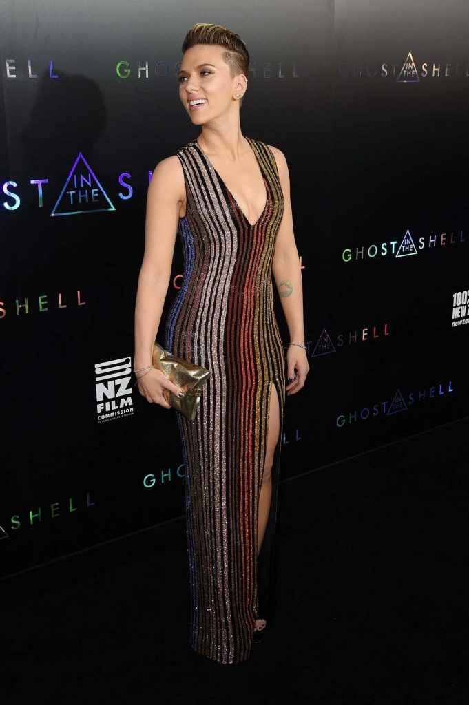 Scarlett Johansson at the Ghost in the Shell Premiere in New York 03/29/2017-3