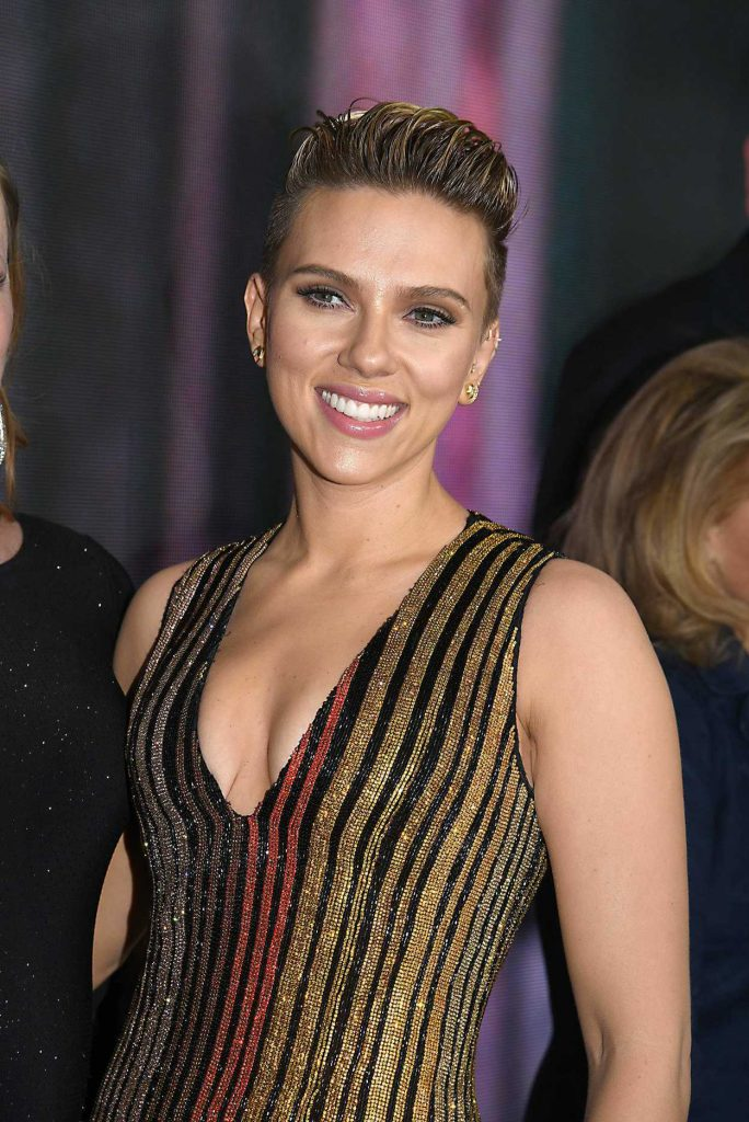 Scarlett Johansson at the Ghost in the Shell Premiere in New York 03/29/2017-5