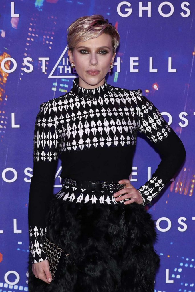 Scarlett Johansson at the Ghost in the Shell Premiere in Paris 03/21/2017-2