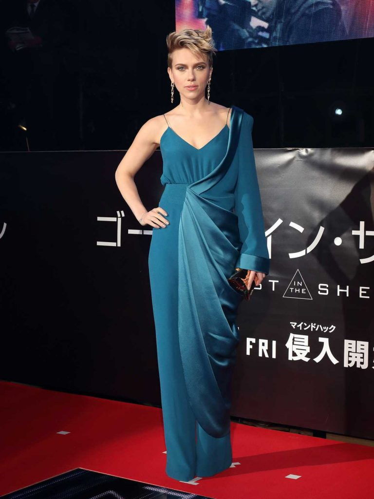 Scarlett Johansson at the Ghost in The Shell Premiere in Tokyo 03/16/2017-1