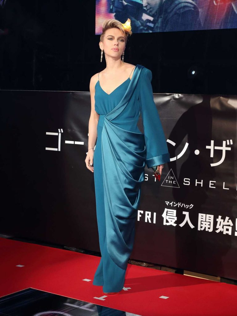 Scarlett Johansson at the Ghost in The Shell Premiere in Tokyo 03/16/2017-2