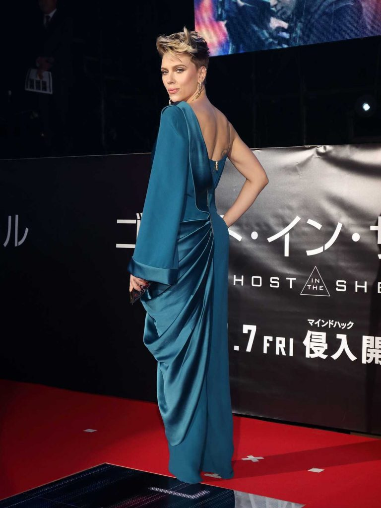 Scarlett Johansson at the Ghost in The Shell Premiere in Tokyo 03/16/2017-4