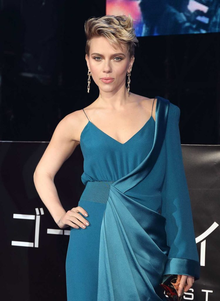 Scarlett Johansson at the Ghost in The Shell Premiere in Tokyo 03/16/2017-5