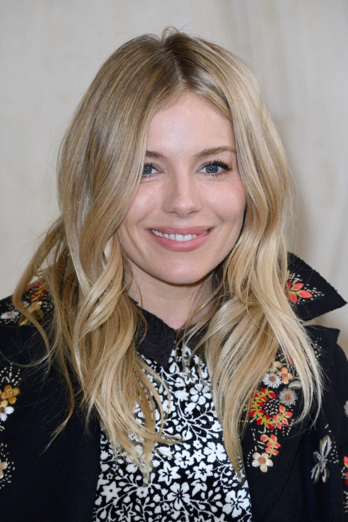 Sienna Miller at the Christian Dior Show During the Paris Fashion Week 03/03/2017-5