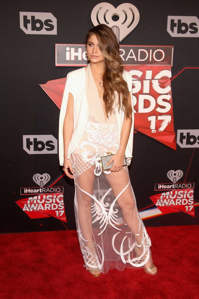 Sofia Reyes at the iHeartRadio Music Awards in Los Angeles 03/05/2017-2