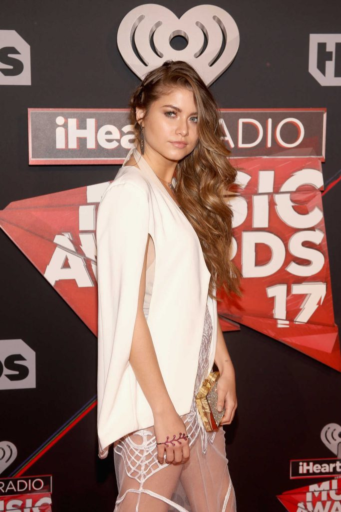Sofia Reyes at the iHeartRadio Music Awards in Los Angeles 03/05/2017-4