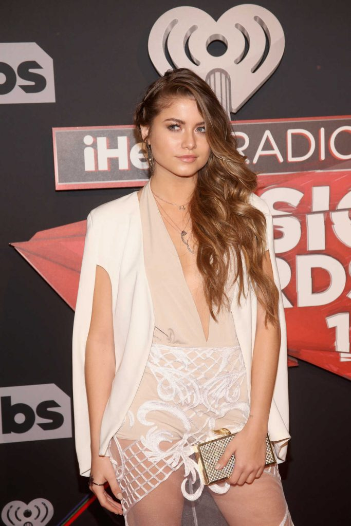 Sofia Reyes at the iHeartRadio Music Awards in Los Angeles 03/05/2017-5