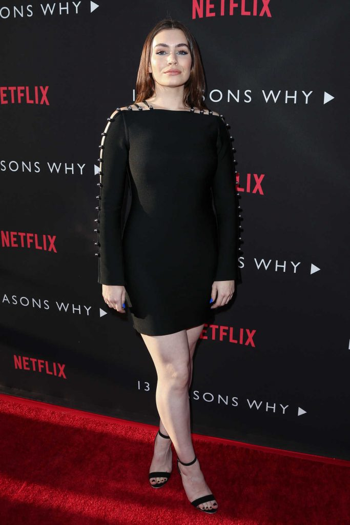 Sophie Simmons at the 13 Reasons Why TV Series Premiere in Los Angeles 03/30/2017-1