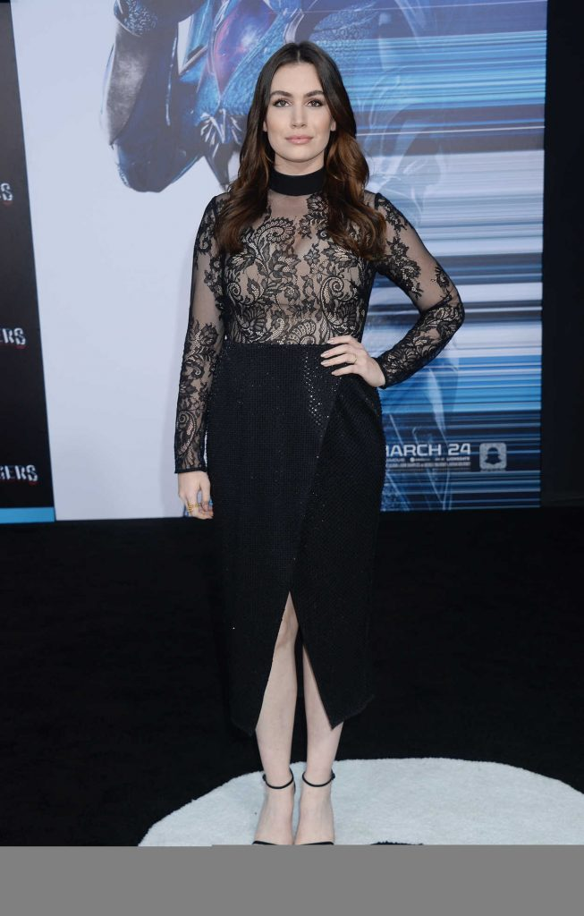 Sophie Simmons at the Power Rangers Los Angeles Premiere 03/22/2017-1