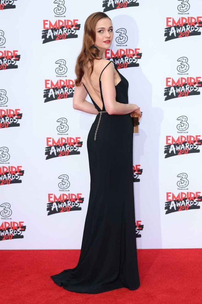 Sophie Skelton at the Three Empire Awards at Roundhouse in London 03/19/2017-3