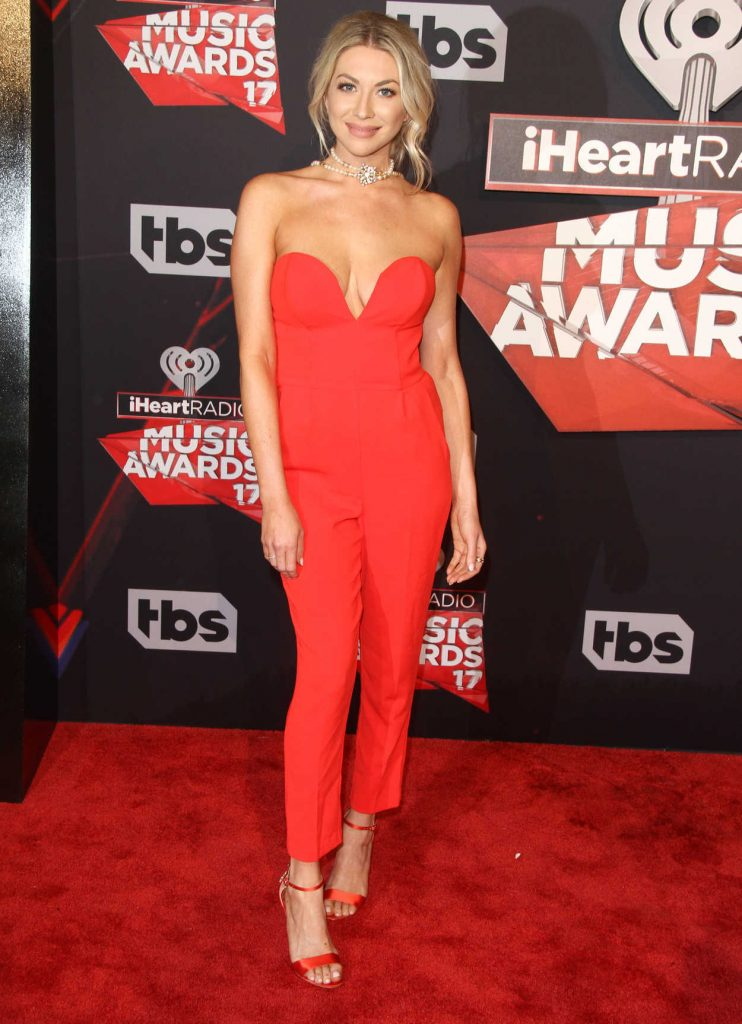 Stassi Schroeder at the iHeartRadio Music Awards in Los Angeles 03/05/2017-1