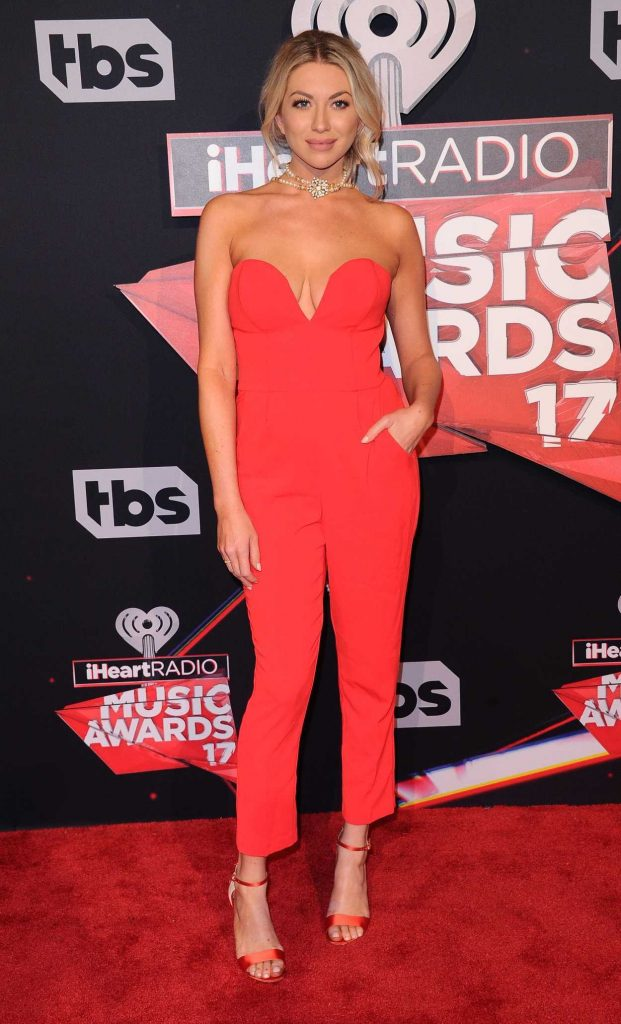 Stassi Schroeder at the iHeartRadio Music Awards in Los Angeles 03/05/2017-2